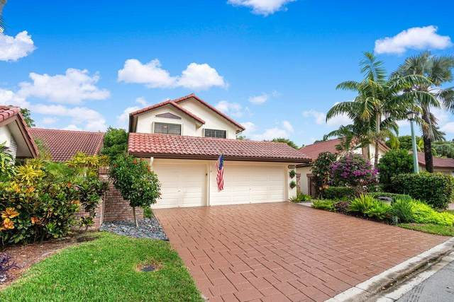 21670 Club Villa Terrace, Boca Raton, FL 33433 (MLS #RX-10680213) :: Laurie Finkelstein Reader Team