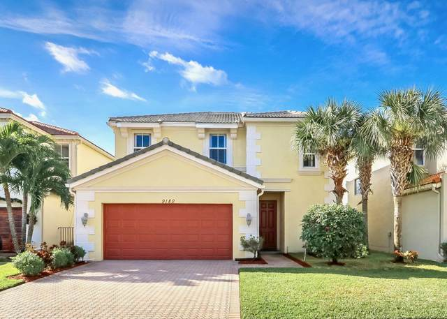 9180 Dupont Place, Wellington, FL 33414 (MLS #RX-10680415) :: Laurie Finkelstein Reader Team