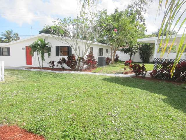 4353 Gulfstream Road, Lake Worth, FL 33461 (MLS #RX-10680435) :: THE BANNON GROUP at RE/MAX CONSULTANTS REALTY I