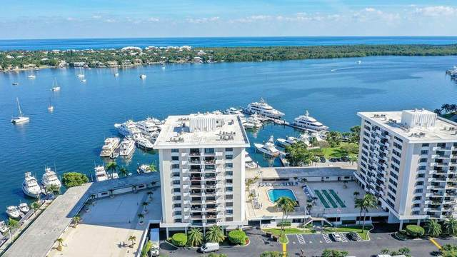 1208 Marine Way #706, North Palm Beach, FL 33408 (MLS #RX-10680436) :: Berkshire Hathaway HomeServices EWM Realty