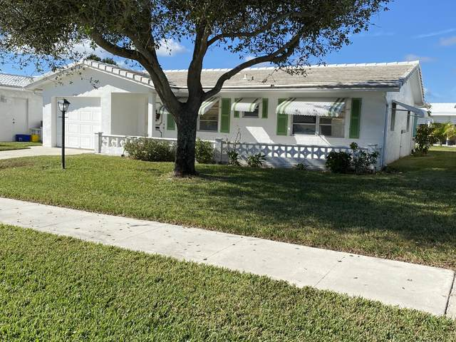1705 SW 16th Street, Boynton Beach, FL 33426 (MLS #RX-10680599) :: Berkshire Hathaway HomeServices EWM Realty
