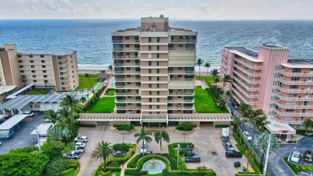 2917 S Ocean Boulevard #301, Highland Beach, FL 33487 (#RX-10680892) :: Signature International Real Estate