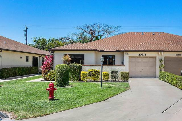 20774 Concord Green Green W, Boca Raton, FL 33433 (MLS #RX-10681237) :: THE BANNON GROUP at RE/MAX CONSULTANTS REALTY I