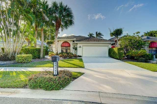 10144 Spyglass Way, Boca Raton, FL 33498 (MLS #RX-10681429) :: The Paiz Group