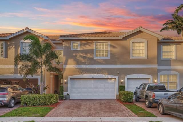 7601 Spatterdock Drive, Boynton Beach, FL 33437 (MLS #RX-10681468) :: Berkshire Hathaway HomeServices EWM Realty