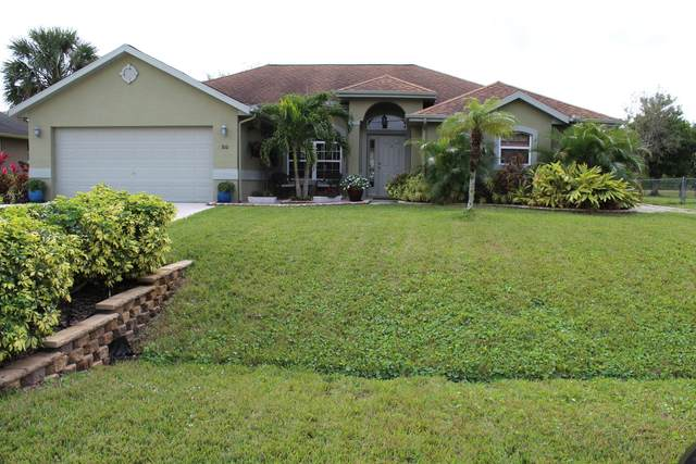 810 SW College Park Road, Port Saint Lucie, FL 34953 (MLS #RX-10681591) :: THE BANNON GROUP at RE/MAX CONSULTANTS REALTY I