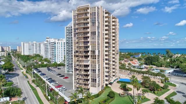 2701 N Ocean Boulevard 5B, Fort Lauderdale, FL 33308 (#RX-10681631) :: Michael Kaufman Real Estate