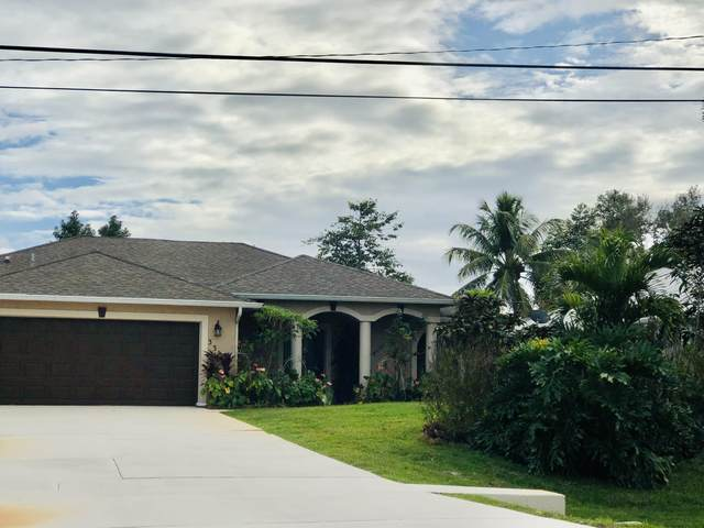 3317 SE West Snow Road, Port Saint Lucie, FL 34984 (MLS #RX-10681710) :: THE BANNON GROUP at RE/MAX CONSULTANTS REALTY I