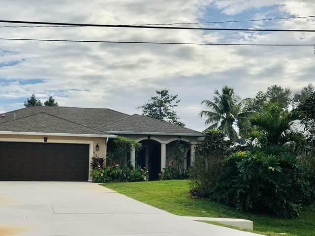3317 SE West Snow Road, Port Saint Lucie, FL 34984 (MLS #RX-10681710) :: Miami Villa Group