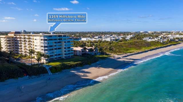 1169 Hillsboro Mile #715, Hillsboro Beach, FL 33062 (MLS #RX-10681736) :: Berkshire Hathaway HomeServices EWM Realty