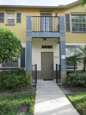2418 SE Union Park Drive, Port Saint Lucie, FL 34952 (#RX-10681912) :: Realty One Group ENGAGE