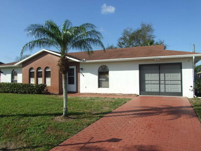 334 NW Curry Street NW, Port Saint Lucie, FL 34983 (MLS #RX-10681918) :: THE BANNON GROUP at RE/MAX CONSULTANTS REALTY I