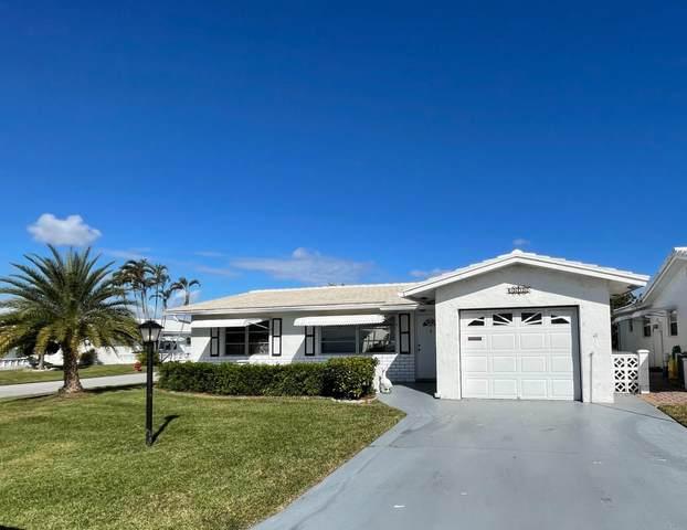 1616 SW 17th Terrace, Boynton Beach, FL 33426 (MLS #RX-10682028) :: Berkshire Hathaway HomeServices EWM Realty