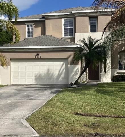2149 SW Trenton Lane, Port Saint Lucie, FL 34984 (MLS #RX-10682338) :: THE BANNON GROUP at RE/MAX CONSULTANTS REALTY I