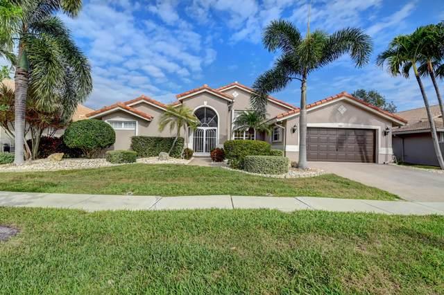 7309 Falls Road E, Boynton Beach, FL 33437 (MLS #RX-10682521) :: Berkshire Hathaway HomeServices EWM Realty