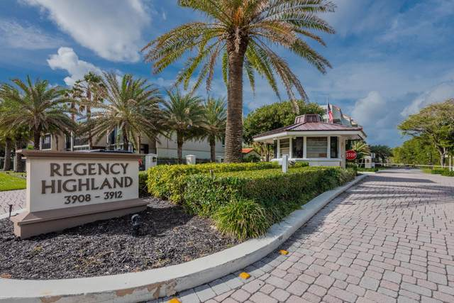 3912 S Ocean Boulevard #312, Highland Beach, FL 33487 (#RX-10682602) :: Signature International Real Estate