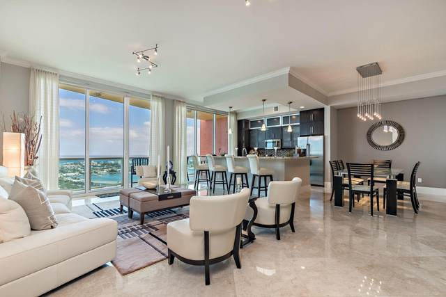 2640 Lake Shore Drive #2607, Riviera Beach, FL 33404 (MLS #RX-10682696) :: Berkshire Hathaway HomeServices EWM Realty
