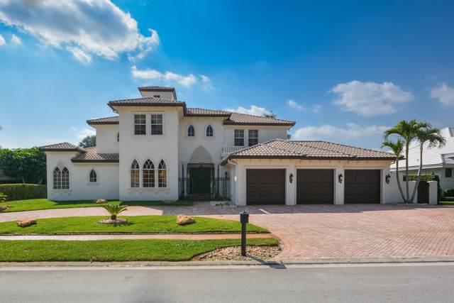 7590 Fenwick Place, Boca Raton, FL 33496 (#RX-10682726) :: Signature International Real Estate