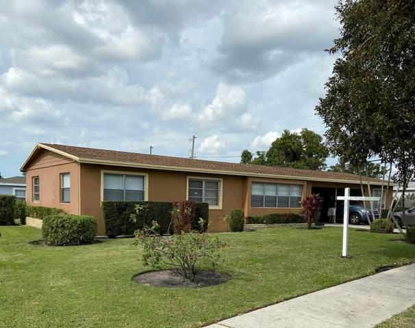 4401 N Terrace Drive, West Palm Beach, FL 33407 (MLS #RX-10682729) :: Castelli Real Estate Services