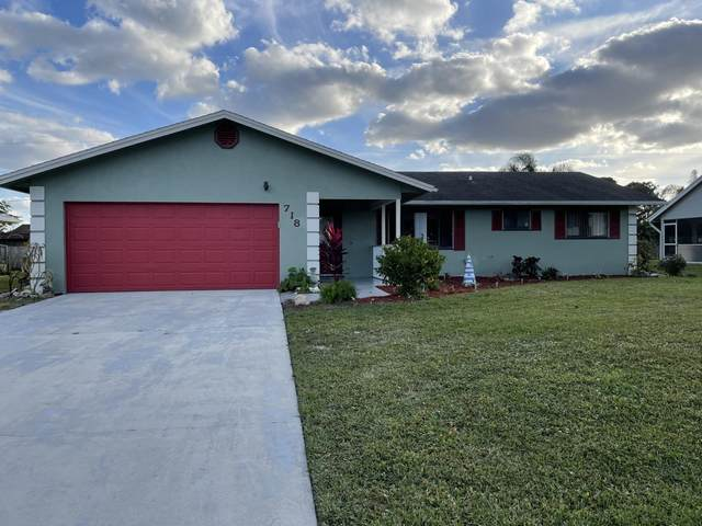 718 NW Bayard Avenue, Port Saint Lucie, FL 34983 (MLS #RX-10683030) :: THE BANNON GROUP at RE/MAX CONSULTANTS REALTY I