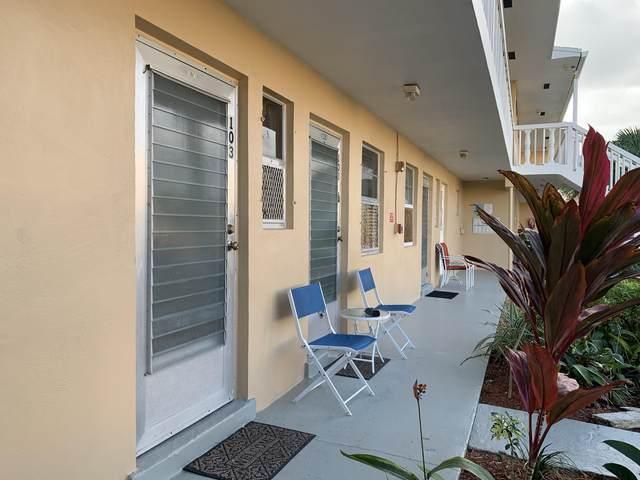 2101 NE 1st Court #103, Boynton Beach, FL 33435 (#RX-10683339) :: Michael Kaufman Real Estate