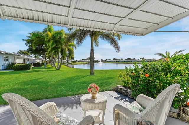 2100 SW Lake Circle Drive #102, Boynton Beach, FL 33426 (MLS #RX-10683401) :: The Paiz Group