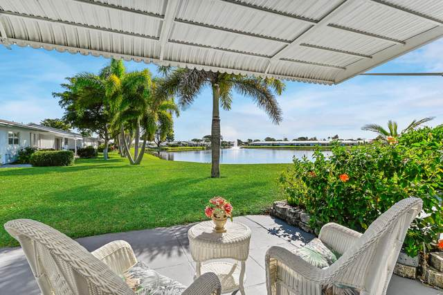 2100 SW Lake Circle Drive #102, Boynton Beach, FL 33426 (#RX-10683401) :: Realty One Group ENGAGE