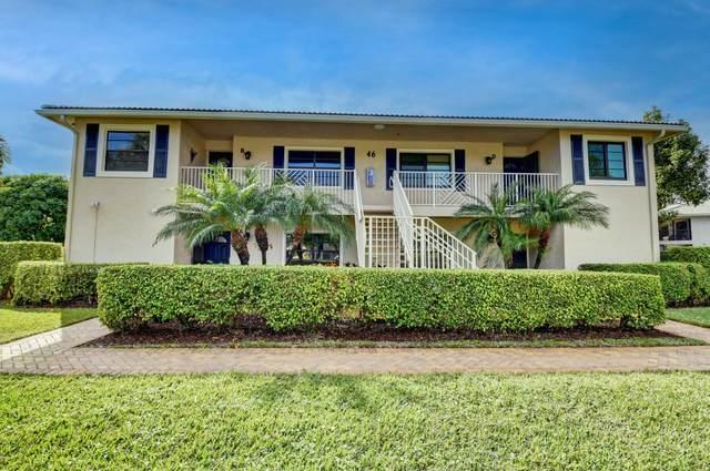 46 Stratford Lane B, Boynton Beach, FL 33436 (#RX-10683486) :: Realty One Group ENGAGE