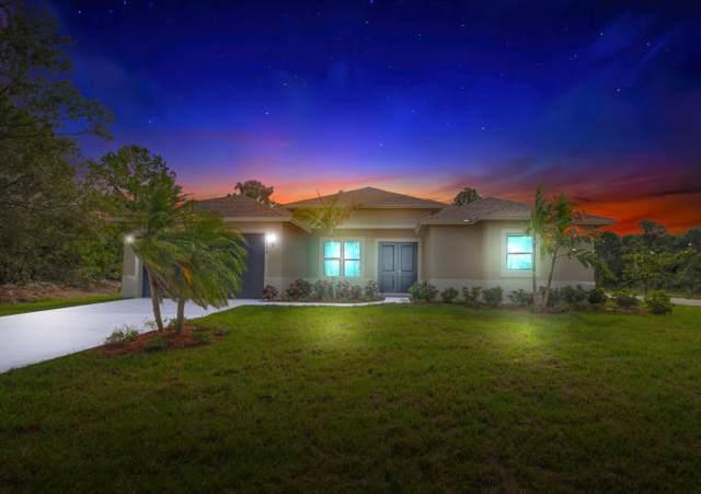 169 SW Sea Lion Road, Port Saint Lucie, FL 34953 (MLS #RX-10683725) :: Berkshire Hathaway HomeServices EWM Realty