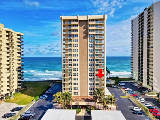 5440 N Ocean Drive #301, Riviera Beach, FL 33404 (MLS #RX-10683837) :: Castelli Real Estate Services