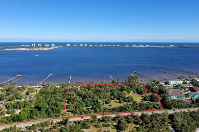 13377 S Indian River Drive, Jensen Beach, FL 34957 (MLS #RX-10683920) :: Laurie Finkelstein Reader Team