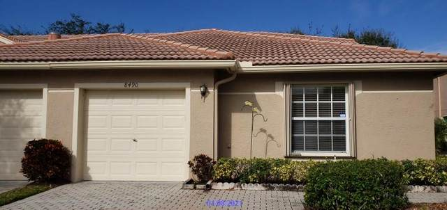 8490 Logia Circle, Boynton Beach, FL 33472 (MLS #RX-10684072) :: THE BANNON GROUP at RE/MAX CONSULTANTS REALTY I