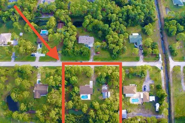 14705 76th Road N, Loxahatchee, FL 33470 (MLS #RX-10684206) :: THE BANNON GROUP at RE/MAX CONSULTANTS REALTY I