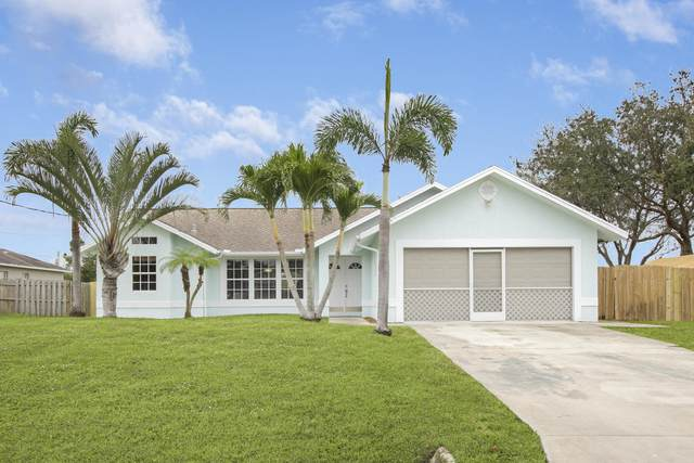 3402 SW Esperanto Street, Port Saint Lucie, FL 34953 (MLS #RX-10684488) :: THE BANNON GROUP at RE/MAX CONSULTANTS REALTY I