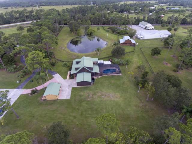 18480 Glades Cut Off Road, Port Saint Lucie, FL 34987 (MLS #RX-10684540) :: Laurie Finkelstein Reader Team