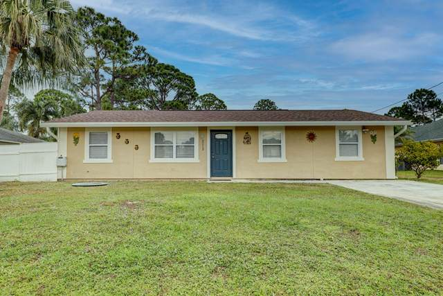 2113 SW Fears Avenue, Port Saint Lucie, FL 34953 (MLS #RX-10684609) :: THE BANNON GROUP at RE/MAX CONSULTANTS REALTY I