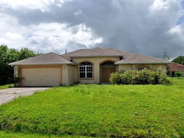 1266 SW Santiago Avenue, Port Saint Lucie, FL 34953 (MLS #RX-10684653) :: Berkshire Hathaway HomeServices EWM Realty