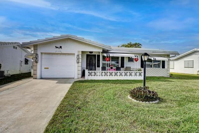 2109 Verdi Drive, Boynton Beach, FL 33426 (MLS #RX-10684711) :: Berkshire Hathaway HomeServices EWM Realty