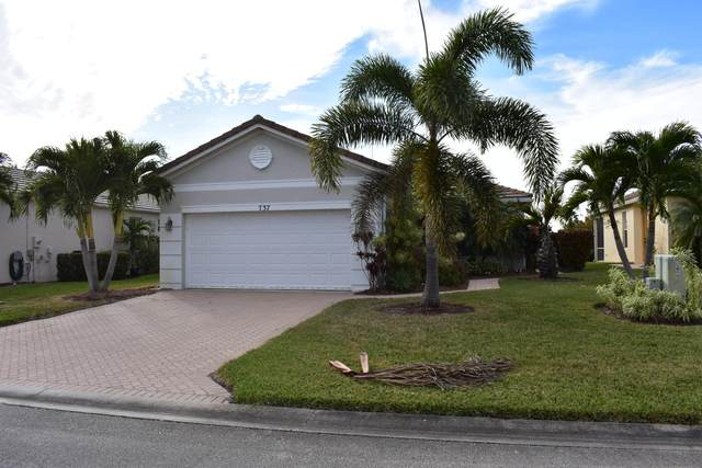 737 SW Rocky Bayou Terrace, Port Saint Lucie, FL 34986 (MLS #RX-10684906) :: Laurie Finkelstein Reader Team