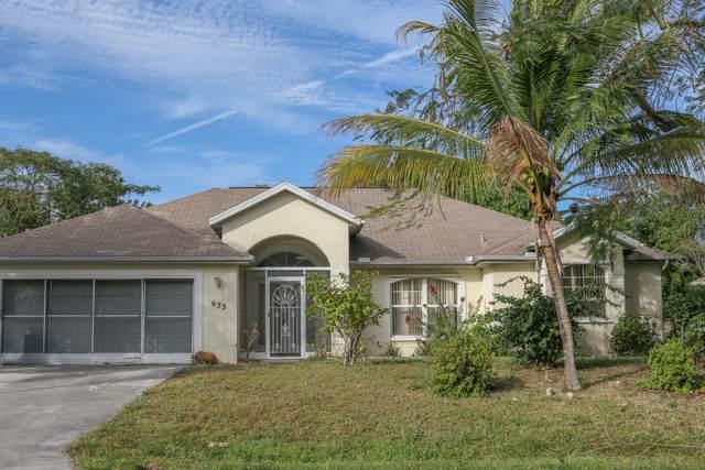 633 SW Ester Avenue, Port Saint Lucie, FL 34984 (MLS #RX-10684946) :: Miami Villa Group