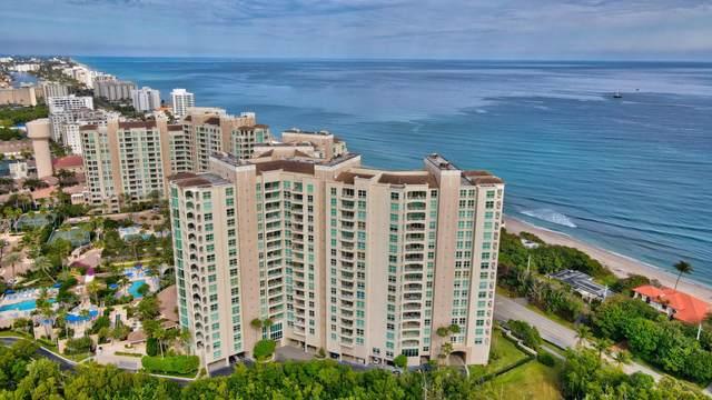 3740 S Ocean Boulevard #401, Highland Beach, FL 33487 (#RX-10684975) :: Exit Realty Manes Group