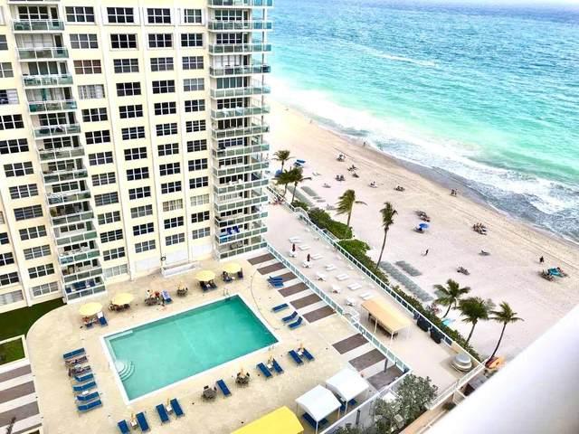 3850 Galt Ocean Drive #1610, Fort Lauderdale, FL 33308 (MLS #RX-10685032) :: United Realty Group