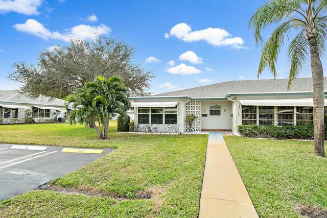 1172 S Drive Circle A, Delray Beach, FL 33445 (MLS #RX-10685087) :: United Realty Group