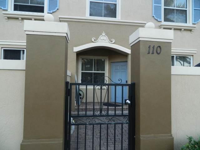 2938 Hope Valley Street #110, West Palm Beach, FL 33411 (MLS #RX-10685147) :: Berkshire Hathaway HomeServices EWM Realty
