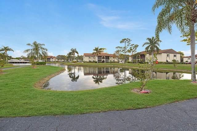 127 Lake Pine Circle C-1, Greenacres, FL 33463 (MLS #RX-10685187) :: Berkshire Hathaway HomeServices EWM Realty
