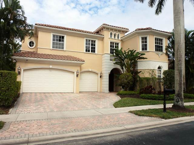 6671 Bristol Lake S, Delray Beach, FL 33446 (MLS #RX-10685290) :: Berkshire Hathaway HomeServices EWM Realty