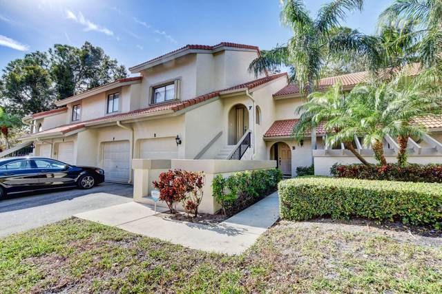 5580 Coach House B Circle B, Boca Raton, FL 33486 (MLS #RX-10685323) :: Berkshire Hathaway HomeServices EWM Realty