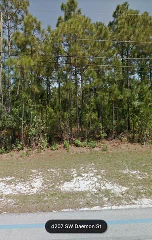 4207 SW Daemon Street, Port Saint Lucie, FL 34953 (MLS #RX-10685528) :: United Realty Group