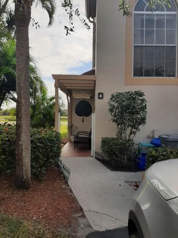 14394 Via Royale #4, Delray Beach, FL 33446 (MLS #RX-10685541) :: United Realty Group