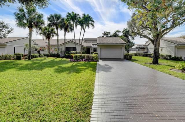 41 Brentwood Drive, Boynton Beach, FL 33436 (MLS #RX-10685544) :: United Realty Group